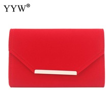 beige Clutch Bags For Women envelop handbags wedding party clutches 2019 Female Sac A Main blue female with chain clutch bag