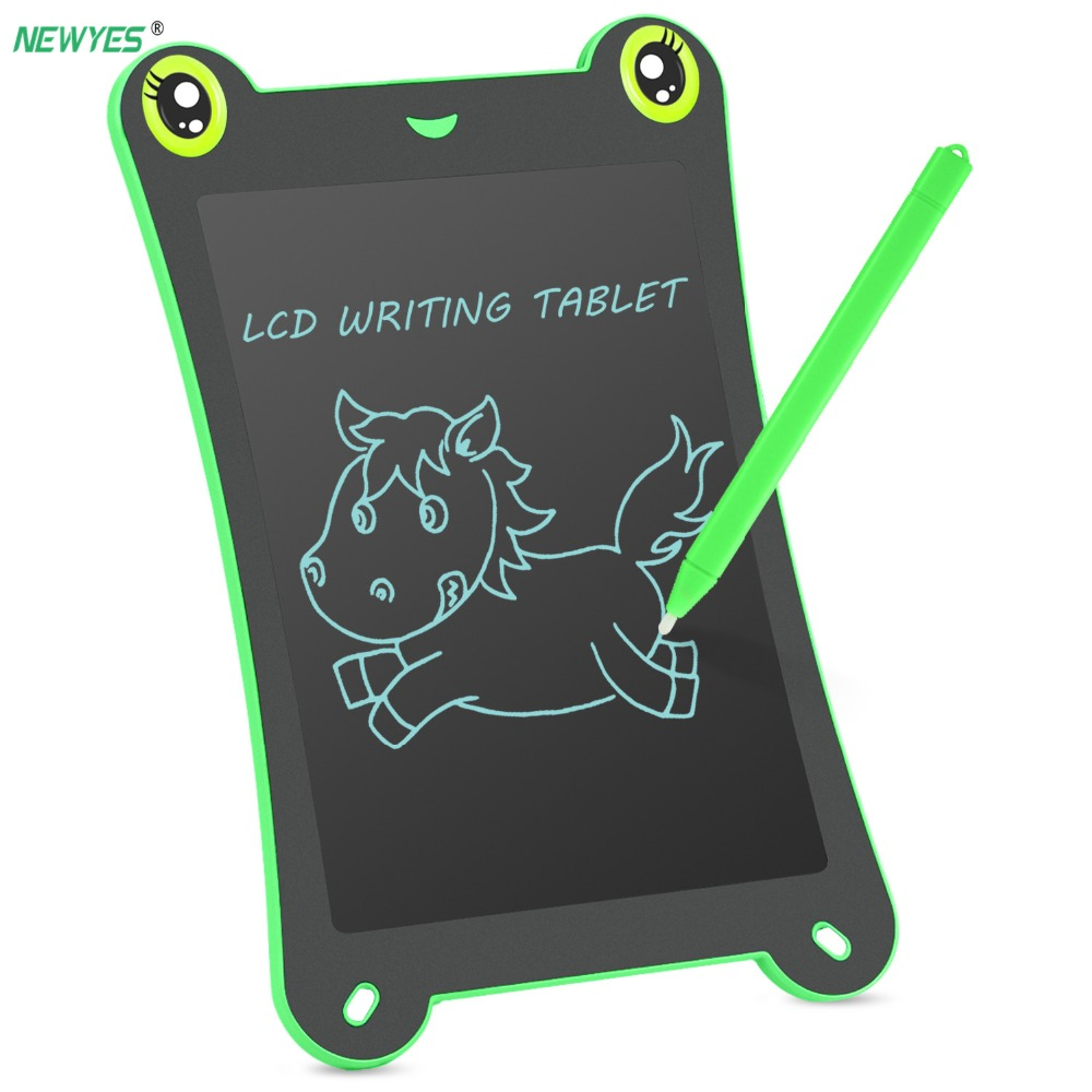 NEWYES 8.5 Inch Graphic Tablets Digital LCD Drawing Tablet Electronic Handwriting Pads With Stylus Touch Pen Gift For Children