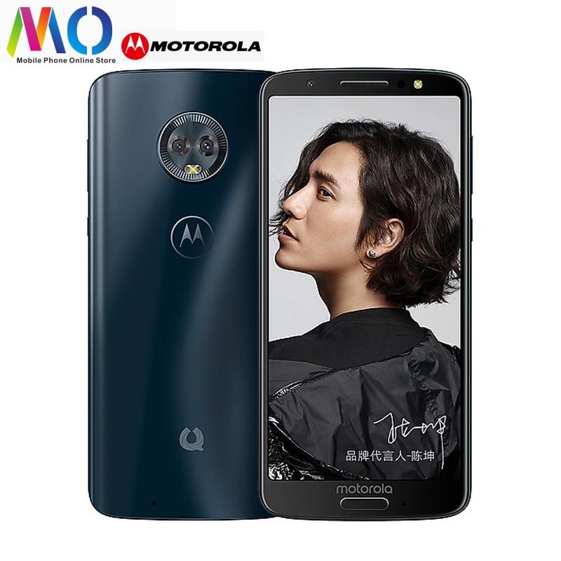 D'origine Motorola Moto Vert Pomelo 1 S smartphone XT1925-10 Snapdragon 450 4 GB RAM 64 GB ROM 5.7 pouces D'empreintes Digitales téléphone portable