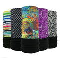 Winter Fleece Headband Outdoor Sport Bicycle Multi Functional Bandana Seamless Tubular Magic Bandana Tube Ring Scarf