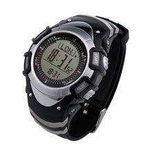 3ATM Wasserdichte Outdoor-sportarten Smartwatch männer Digitale Backlit Höhenmesser Schrittzähler Thermometer Kompass FR8204 Schauen SW005