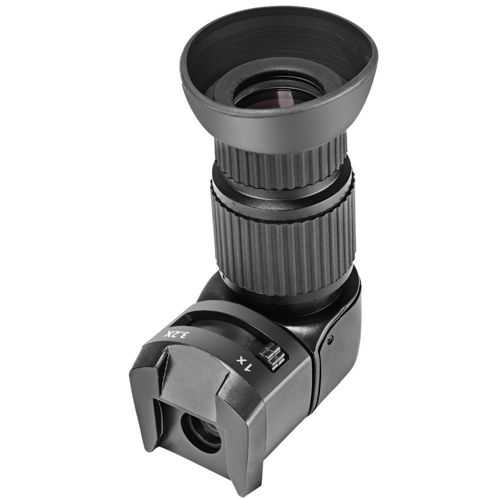 Neewer  Right Angle Viewfinder with 8 Mounting Adapters for Canon/Nikon/Pentax/Panasonic/Minolta/Leica/Other SLRNeewer  Right Angle Viewfinder with 8 Mounting Adapters for Canon/Nikon/Pentax/Panasonic/Minolta/Leica/Other SLR