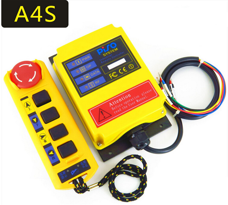 A4S crane electric hoist industrial remote controller