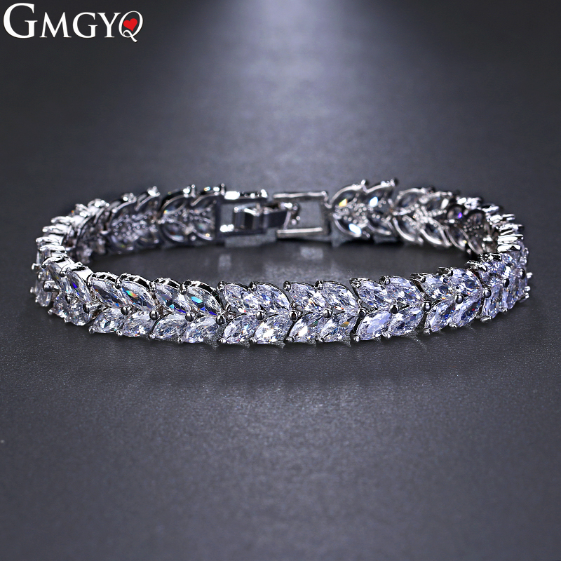 GMGYQ Cubic Zircon Wedding...
