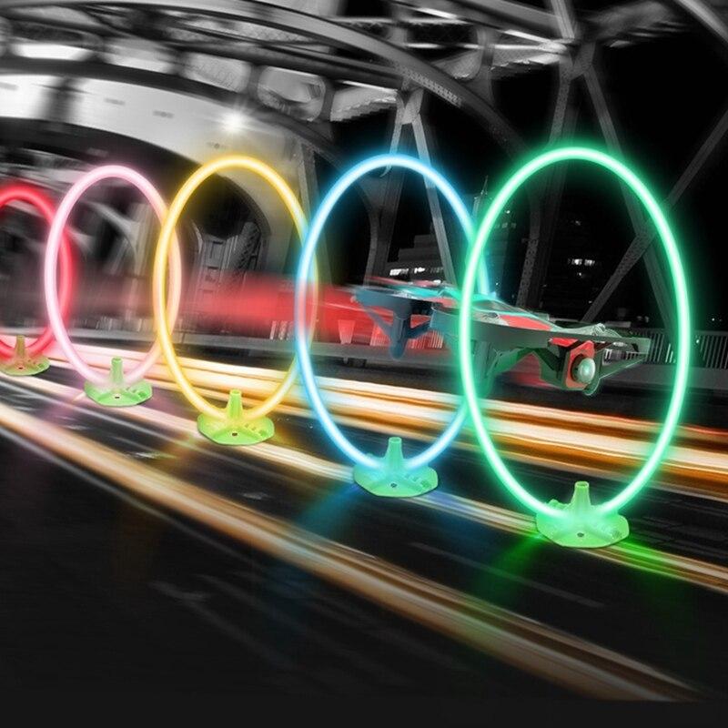 E013 plus fpv racer drone 액세서리 용 시간 계량기 타이머가있는 도어 트랙을 통한 eachine led 플래시 레이싱 서클 크로싱-에서부품 & 액세서리부터 완구 & 취미 의  그룹 1