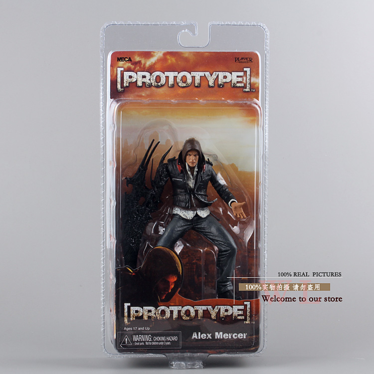 NECA Prototype Alexander J Mercer PVC Action Figure Collection Jouet Modèle 7 18 cm
