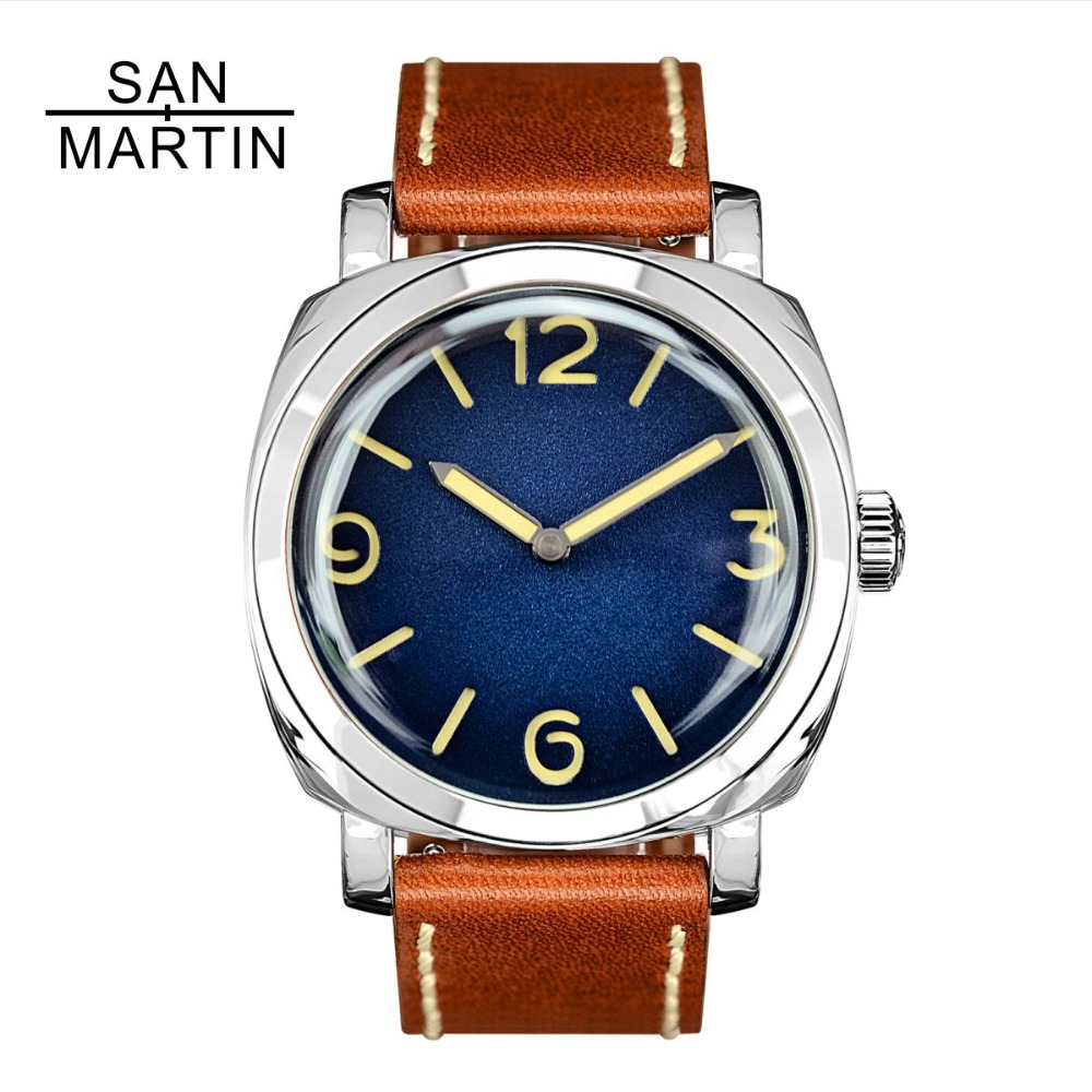 San Martin Men Fashion Watch Automatic Diving Watch Vintage Stainlss Steel Wristwatch 200m Water Resistant Montre