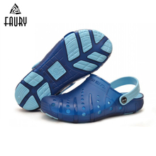 Medical Hole Shoes Size45 Men's Slippers Woman Summer Lab Hospital Breathable Sandals Cool Scrub Nurse Slippers Slippery