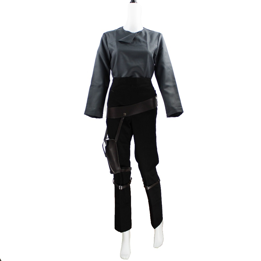 A Star Wars Story Jyn Erso Sergeant Costume Halloween Cosplay Outfit Rogue One