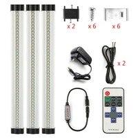 DMXY 3pcs Set Smd 2835 IR Remote Control Dimmable Under Cabinet Light Kitchen Light LED Bar