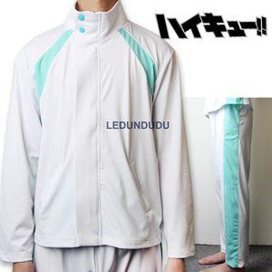 Image 4 - Anime Haikyuu!! Aoba Johsai High School Oikawa Tooru School Uniform Jackets Men Coat Cosplay Costumes
