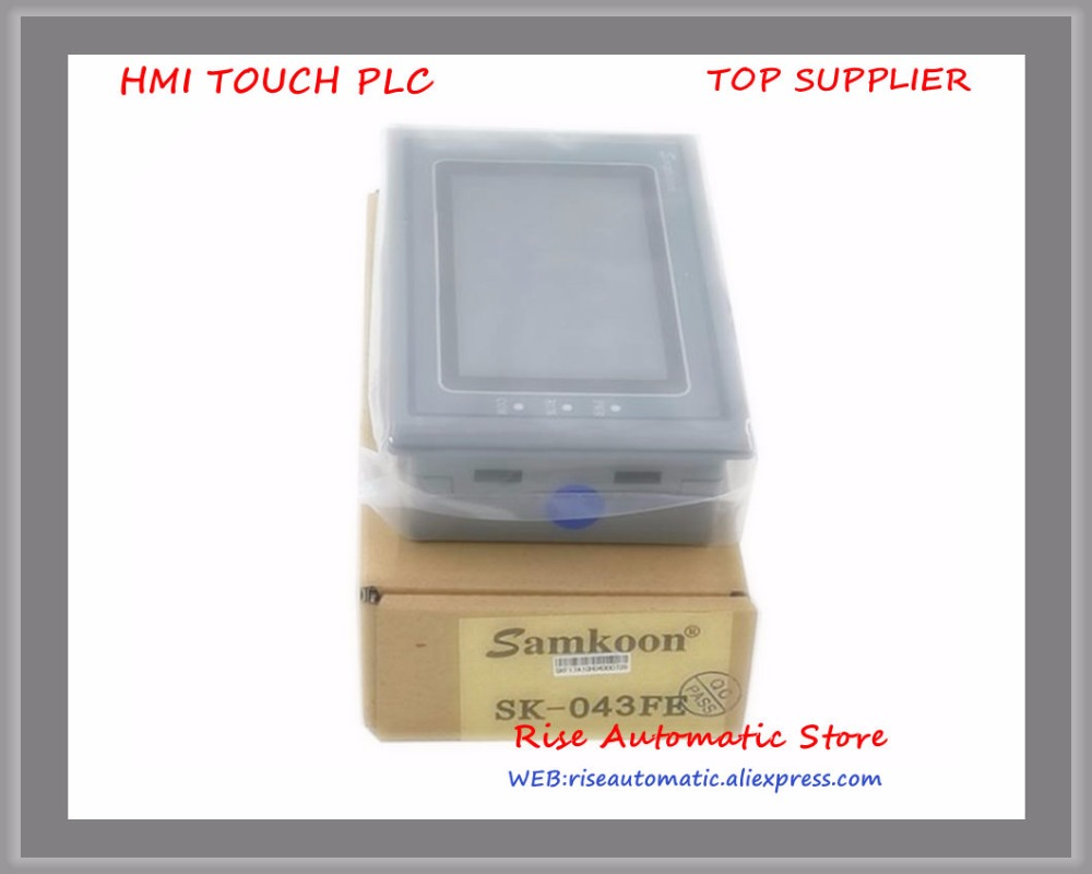 New 4.3 inch Touch Screen HMI TP PLC With RS232+RS485+USB +Touch Panel SK-043AE/B update to SK-043HE SK-043AE update to SK-043FE sk ii sk ii color