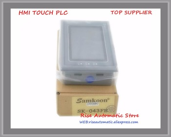 New 4.3 inch Touch Screen HMI TP PLC With RS232+RS485+USB +Touch Panel SK-043AE/B update to SK-043HE SK-043AE update to SK-043FE