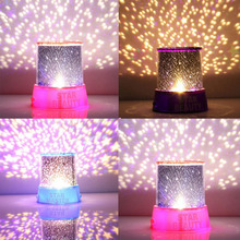 цена на Hot Newest Colorful Sky Star Master With Moon Novel Festival Gifts Projector Night Light Romatic Cosmos LED Starry Light Lamp