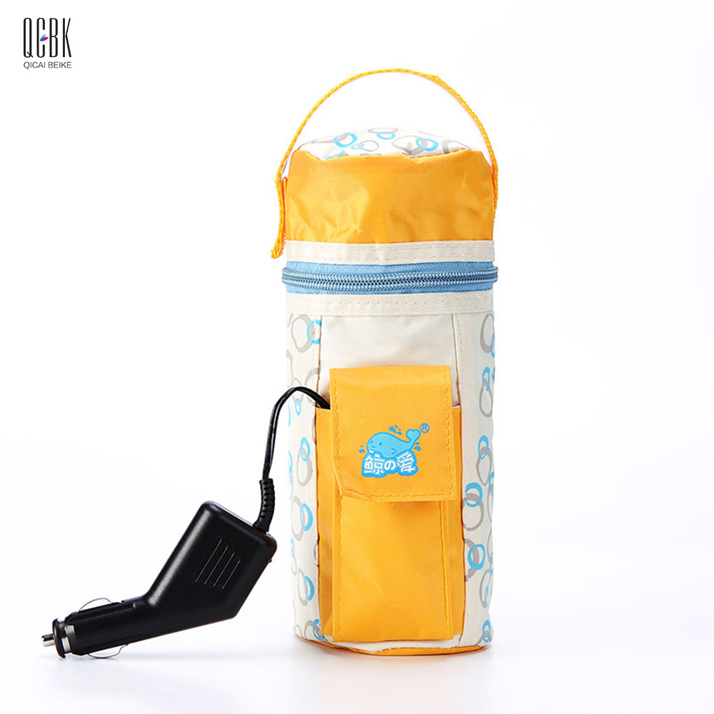 Portable Electric Car Baby Bottle Warmer Food Milk Travel Cup Heater DC 12V Universal in Car