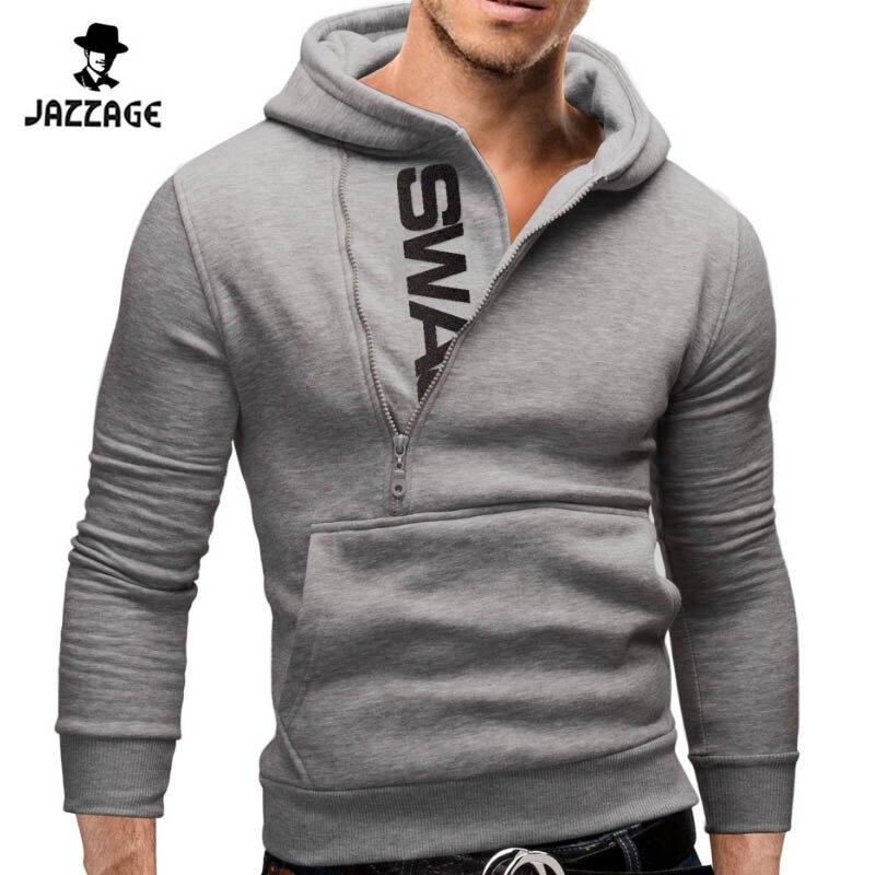 Hoodies Män 2018 Märke Sweatshirt Män Hoodies Fashion Solid Hoodie - Herrkläder - Foto 4