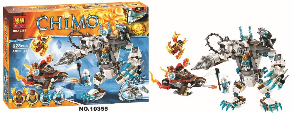 Bela Chimaed 10355 Icebite's Claw Driller 628pcs Minifigures toys building  blocks movie Compatible with Lego 70146-in Model Building Kits from Toys ...