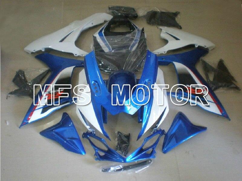 Для Suzuki системы GSX-Р 600/750 2011-2013 инъекции ABS обтекатель - Стиль фабрики - белый/синий