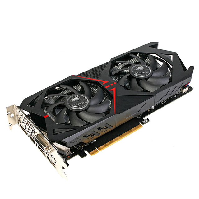 Original Colorful NVIDIA GeForce GTX 1060 6G Video Graphics Card 6GB GDDR5 8008MHz 16nm 192bit 7680*4320 Gaming With DVI HDMI DP