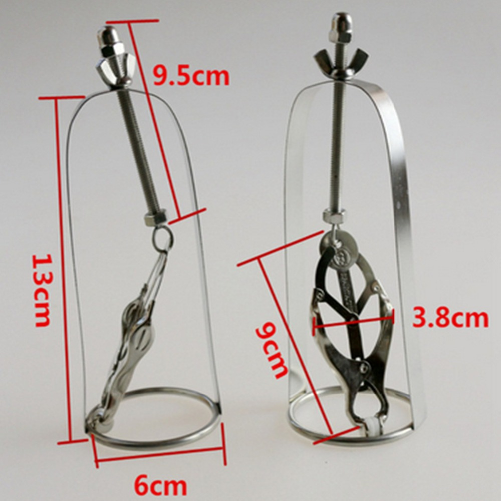 1 Pcs Stainless Steel Metal Breast Clips Nipples Clamps In Adult Games For Female , Fetish Sex Products Toys For Women