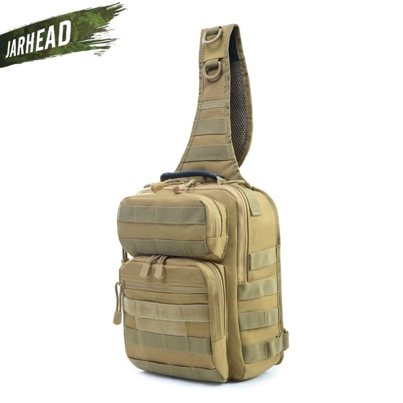 Military Tactical Sling Backpack Army Molle Waterproof EDC Outdoor Rucksack Bag