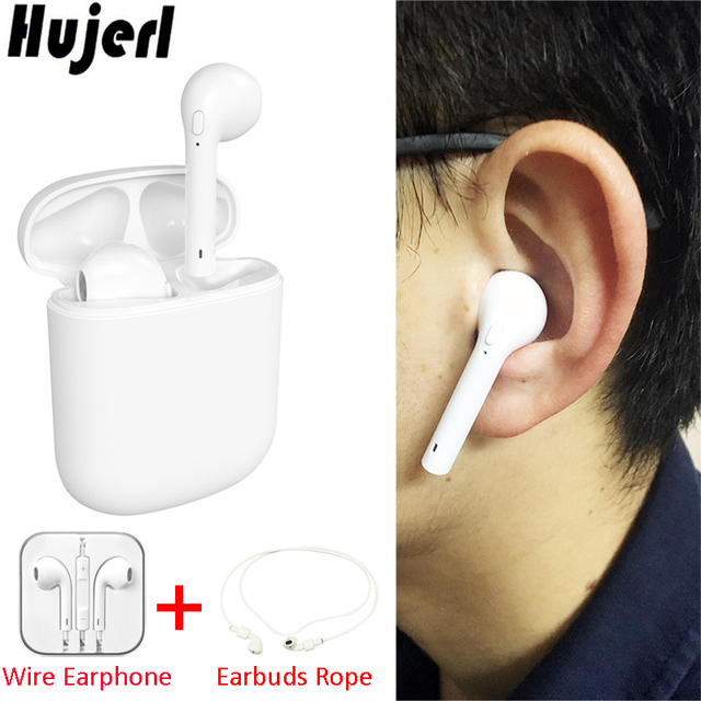 Licit HBQ Mini i8 Earphone Wireless Bluetooth Earbuds TWS Earphones with Alluring Charging Box Super Microphone Well-built + Free Gift.