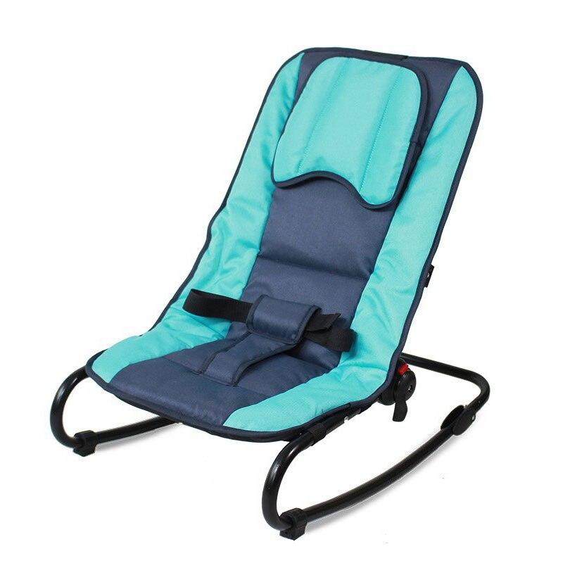 Réglable bébé videur Portable pliant nouveau-né bébé chaise à bascule balançoire salon inclinable Balance chaise