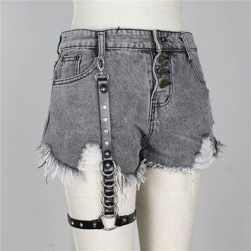 UYEE Трендовое сексуальное женское белье ремень Регулируемый кожаный подвязка для женщин эротический пояс для тела подтяжки жгут LB-007 - Цвет: LP-034