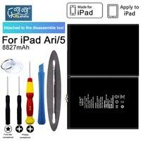 100 ORIGINAL LEHEHE Tablet Battery For Apple Ipad Ari 5 A1484 A1474 A1475 3 73V 8827mAh