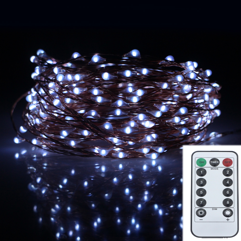20m 200led 8modes copper wire battery operated led string light 20m 200led 8modes copper wire battery operated led string light chrismas outdoor fairy lights decoration wedding garland in led string from lights aloadofball Image collections