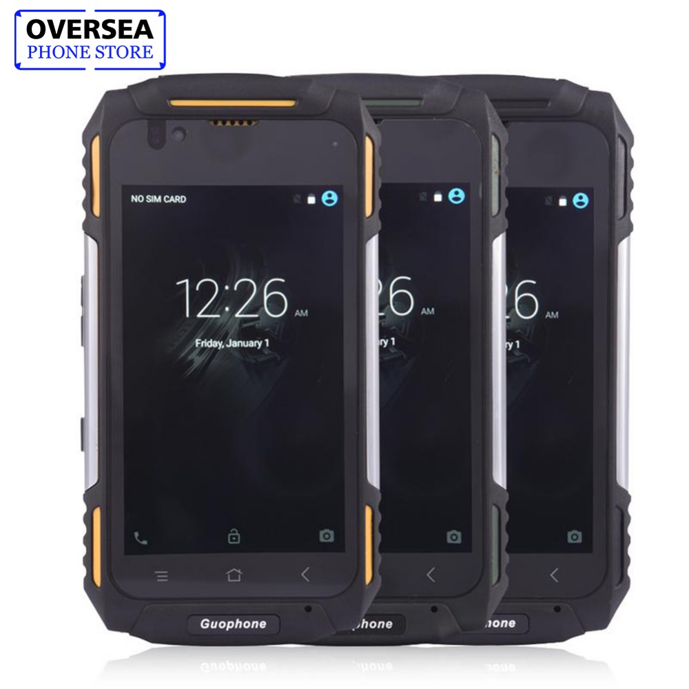 GuoPhone V88 Smartphone IP68 Waterproof Phone 4.0 Inch 1GB 8GB 5MP 3200mAh 3G Mobile Phone Support GPS Outdoor Smart Phone
