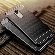 For Xiaomi Redmi Note 4X Case Soft Carbon Style Protective Back Cover Silicon Case For Redmi Note 4 Global Version /Note 4X Pro(China)