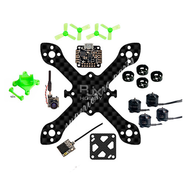 83mm FPV Racing Drone Indoor Outdoor Carbon Fiber Quadcopter BNF W/ 16*16mm Flight Controller 1104 7600KV Motor 48CH 800TVL Cam планшета huawei охвата wlan t1 821w t1 823l s8 701w u кожаный чехол специальный славы