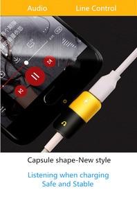 Image 2 - 헤드폰 잭 유형 c 어댑터 2 In 1 오디오 충전기 삼성 HTC 화웨이 분배기 오디오 변환기 Xiaomi Mi8 Chraging