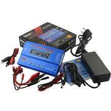 IMAX B6 80 Вт с адаптер переменного тока 15 В 6A Питание RC Lipo Батарея баланс Зарядное устройство разрядник 50 Вт B6 и 12 В 5A дополнительного адаптера