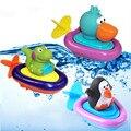 Patos de Brinquedo do Banho do bebê de Natação/Pinguim/Crocodilo Clockwork Jogar Natação Brinquedo para o Miúdo Brinquedos Educativos Infantil Animal Bonito Brinquedo Do banho