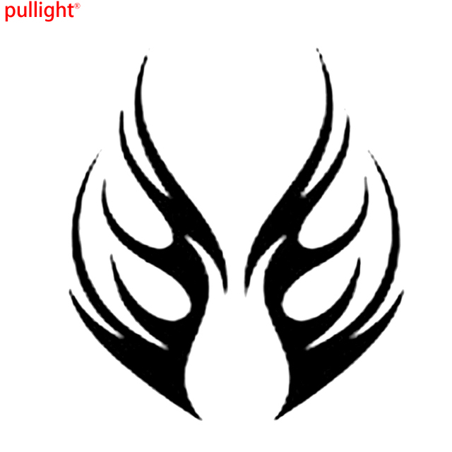 Hot Sell HOOD BONNET FLAME Car Bike Van Truck Boat Vinyl Graphic - Bike graphics stickers images