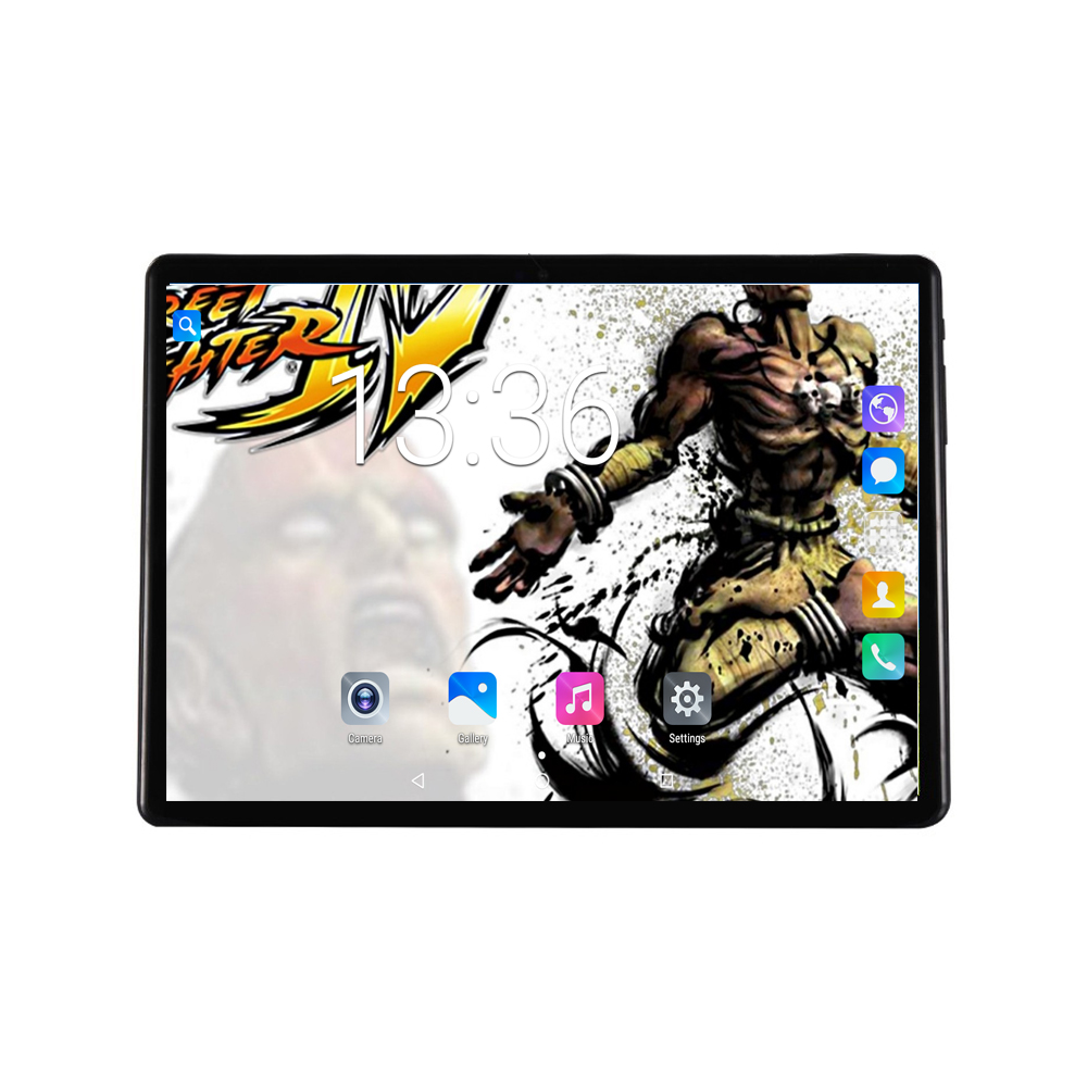 2018 Fashion Super Tempered 2.5D Glass 10 inch tablet pc Android 7.0 1280X800 IPS Touch Screen Original Wifi Tablets 10.1 +Gift