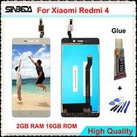 Sinbeda 100 Guaranty For Xiaomi Redmi 4 LCD Screen Display Touch Screen Digitizer For Redmi Hongmi