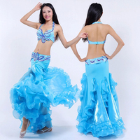 New Arrival High Quality Belly Dance Set Dresses Costumes Belly Dancing Clothes Bellydance Suits 6 Colors