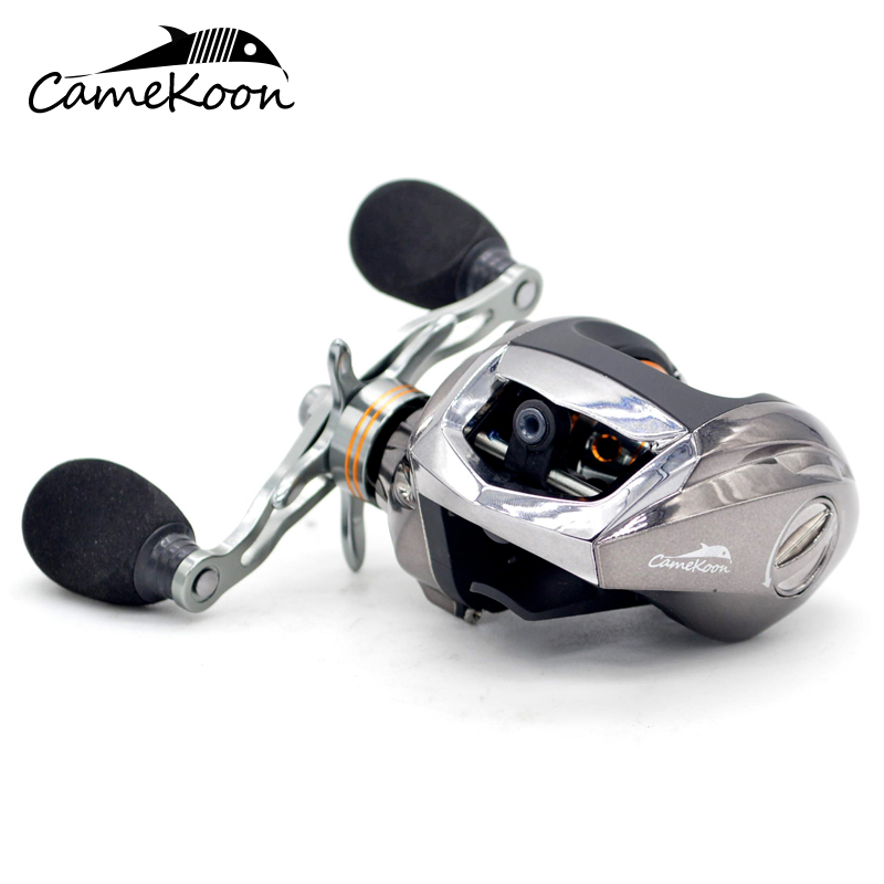 CAMEKOON Low Profile Baitcasting Fishing Reel 18 1 Ball Bearings 6 3 1 Gear Ratio High
