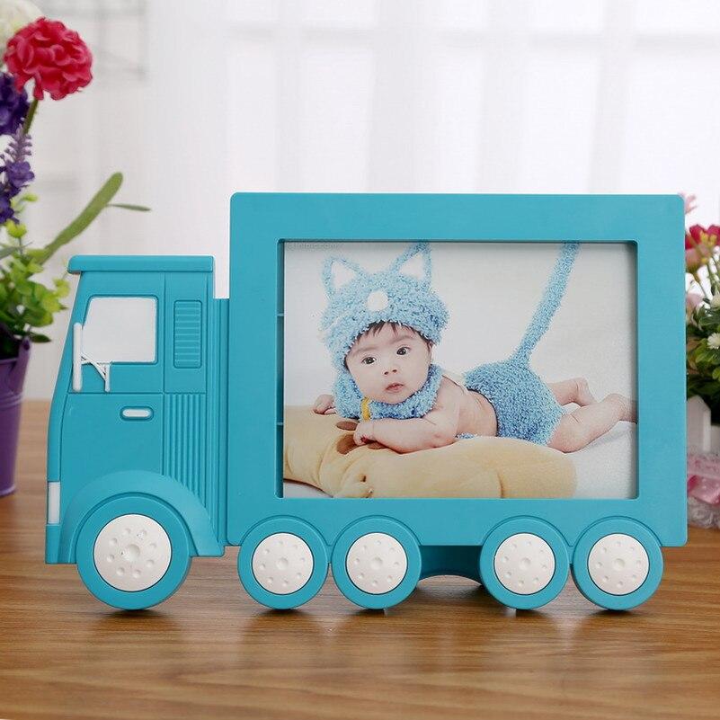 Creativo 7 pulgadas Foto Marcos niños juguete imagen Marcos camión ...