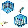 46 шт.  набор кистей для рисования граффити  набор художественных игрушек  набор карандашей для рисования  канцелярские принадлежности  Прям...