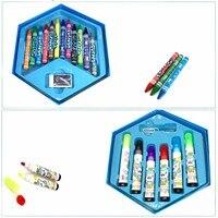 46Pcs Kleuren Schilderen Graffiti Penseel Set Art Speelgoed Sets Tekening Schilderen Potlood Briefpapier Dropshipping