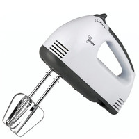 100W Electric Doughmaker Milk Drink Whisk Mixer Frother Foamer Kitchen Egg Stirring Beater Electric Mini Handle