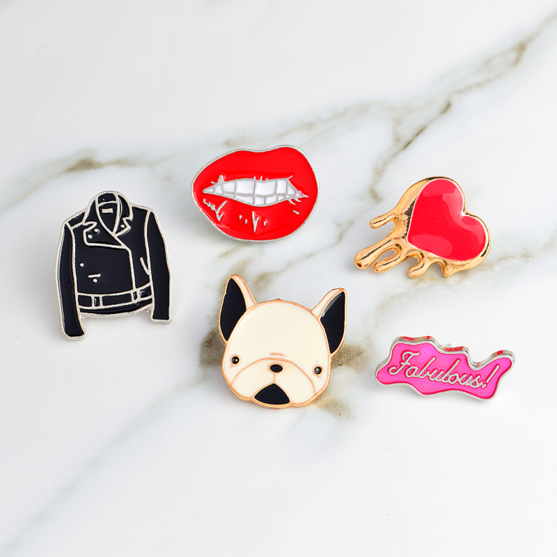 Badges Earnest 1 Pcs Cartoon Cute Animal Cat Rabbit Metal Brooch Button Pins Denim Jacket Pin Jewelry Decoration Badge For Clothes Lapel Pins Apparel Sewing & Fabric