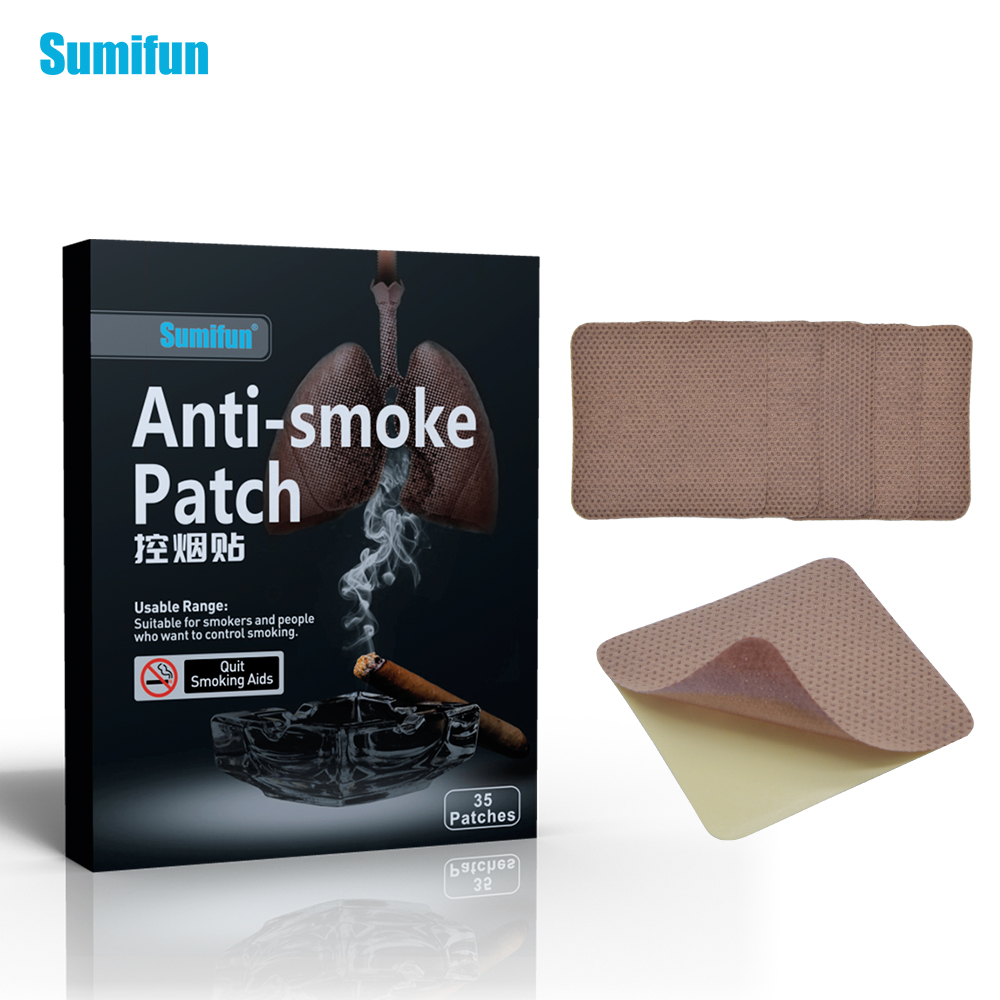 35pcs Patch Nicotine Patch SmokingAnti-smoking Pad Stop Smoking Cessation Nicotine Patch Tabacco Leaf Health Care K01201