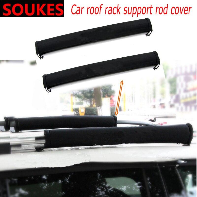 Car Roof Rack Support Rod Box Protection Cover For Alfa Romeo 159 147 156 166 GT Mito Acura MDX RDX TSX Fiat 500 Punto Stilo