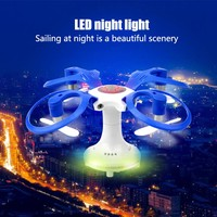 Spherical folding drone mini four axis aircraft HD aerial remote control helicopter children's toys