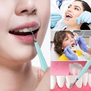 Image 5 - Yeni tasarım elektrikli Sonic diş ölçekleyici diş Calculus Remover diş lekeleri Tartar silgi ev kullanımı Toothwash aracı arkadan aydınlatmalı